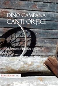 Canti orfici - Dino Campana - copertina