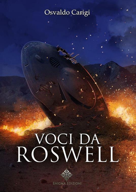 Voci da Roswell - Osvaldo Carigi - copertina