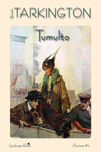 Tumulto - Booth Tarkington - copertina