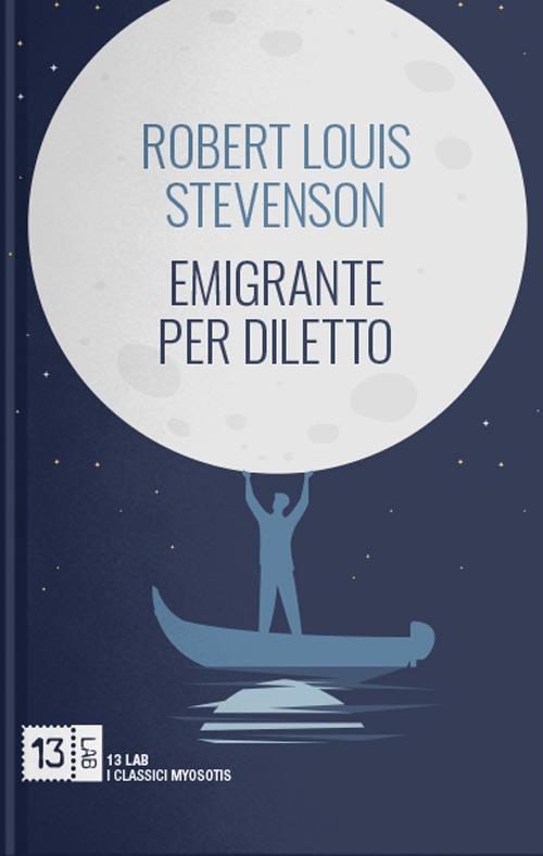 Emigrante per diletto - Robert Louis Stevenson - copertina