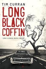 Long black coffin. Una lunga bara nera