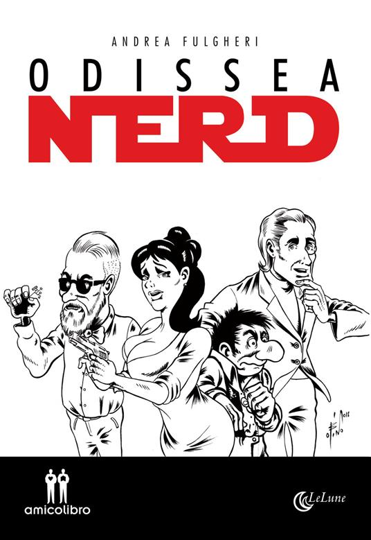 Odissea nerd - Andrea Fulgheri - copertina