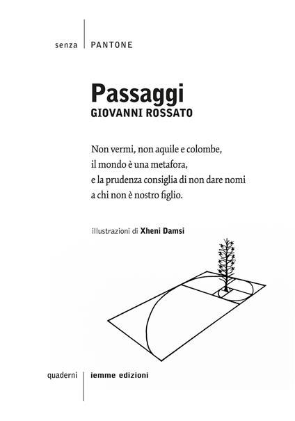 Passaggi - Giovanni Rossato - copertina