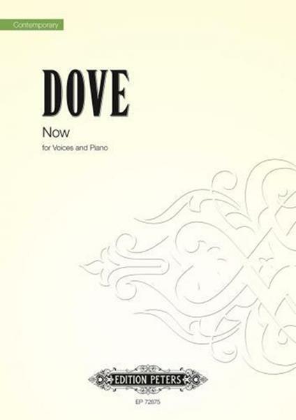 Now. Voices and Piano. voce e pianoforte. spartito -  Jonathan Dove - copertina
