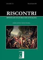 Riscontri. Rivista di cultura e di attualità (2021). Vol. 2