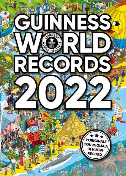 Guinness World Records 2022 - copertina