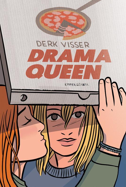 Drama queen - Derk Visser - copertina