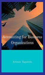 Accounting for Business Organizations