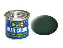 Vernice A Smalto Revell Email Color Dark Green Mat Raf