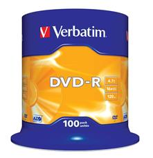 DVD-R 4.7Gb 16X Spindle 100 Pz Verbatim