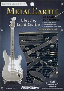 Chitarra Elettrica - Electric Lead Guitar Metal Earth 3D Model Kit MMS074
