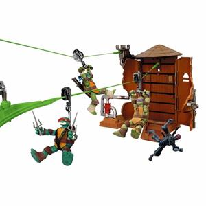 Tartarughe Ninha Teenage Mutant Ninja Turtles Z-Line Water Tower Washout Playset