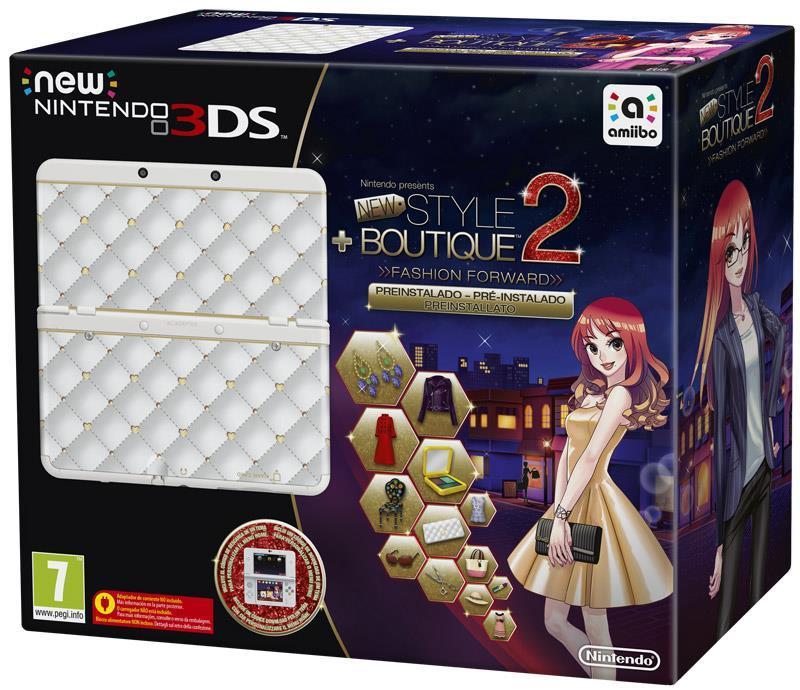Nintendo New 3DS Bianco + New Style Boutique 2 - gioco per Nintendo ... 2c0c0fd0856e