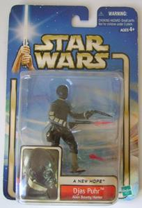 Star Wars A New Hope Figure DJAS PUHR Alien Bounty