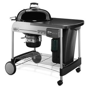 Barbecue a Carbone Performer Deluxe Black GBS Weber Cod. 15501998