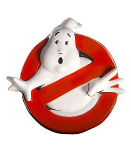 Rubies Ghostbusters Wall Decor Logo 30 X 30 Cm Nuova
