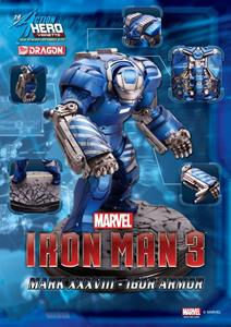 Action Hero Vignette. Iron Man 3. Mark 38 Igor Armor (DR38124)