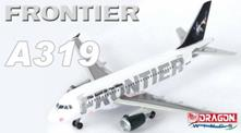 Frontier A319 1:400 Plastic Model Kit RIPDWI 55564