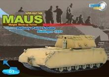 Maus Super Heavy Tank Weight Mock-up Turret Boblinger 1944 1:72 Model RIPDAR 60156