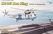 Modellino Dragon 5113 Sh-3G Sea King, Usn Utility Transporter Kit Aereo 1:72