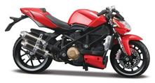 Ducati Mod Streetfighter S Red Motorbike 1:12 Model MI11024R