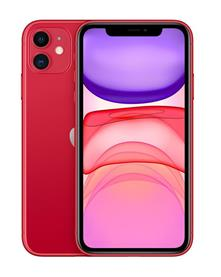 "Apple iPhone 11 15,5 cm (6.1"") 256 GB Doppia SIM Rosso"