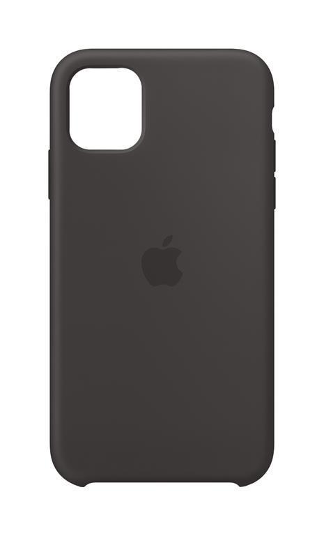 Apple Custodia in silicone per iPhone 11 - Nero - Apple ...