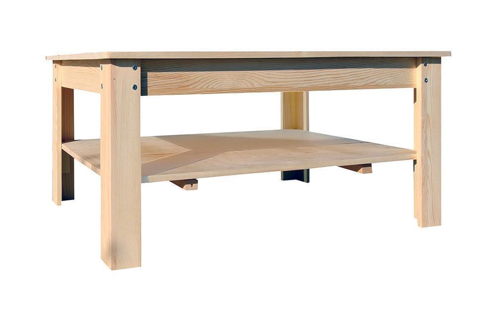 Tavolini da Salotto Legno Chiaro Rustico Soggiorno