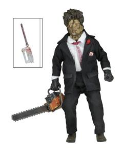 Texas Chainsaw Massacre 2:  Leatherface 8 Inch Clothed Action Figure