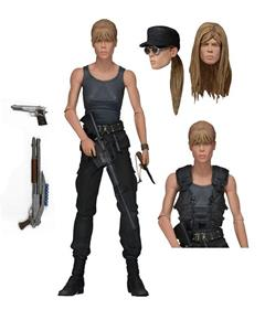 Terminator 2 Sarah Connor Ultimate Deluxe Action Figure Nuova - 2