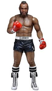Action Figure Neca Rocky Iii Clubber Lang Black Pant, - 4