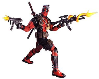 Marvel Classic Ultimate Deadpool 1/4 Af Action Figure