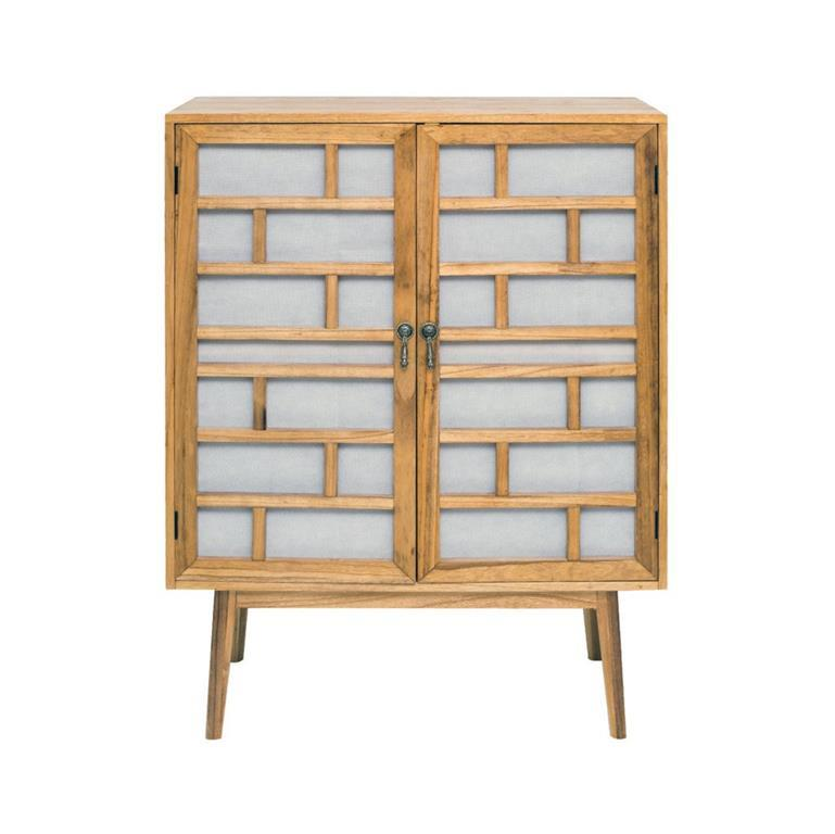 Mobili rebecca credenza mobile soggiorno legno bianco for Regalo credenza