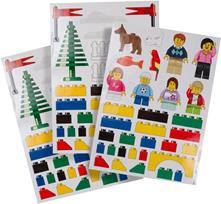 LEGO (850797). Classic Wall Stickers Adesivi Stacca Attacca 70x50cm
