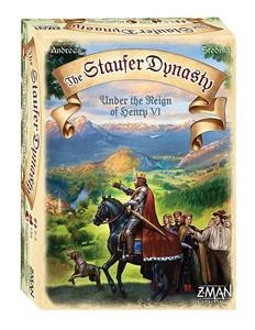 The Staufer Dynasty Board Game English Version
