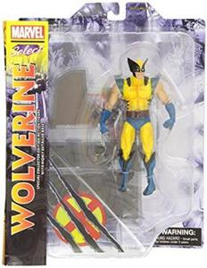 Wolverine Yellow Action Figure - 3