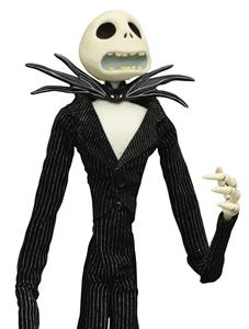 Diamond Select Nightmare Before Christmas Jack Unlimited Doll In Coffin