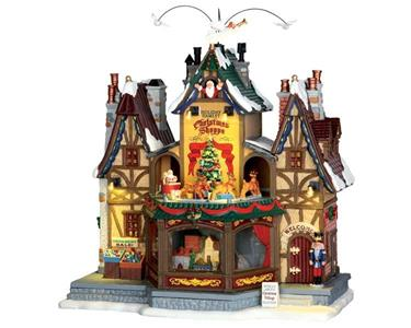 Lemax Bottega Natalizia - Holiday Hamlet Christmas Shoppe Cod 55026