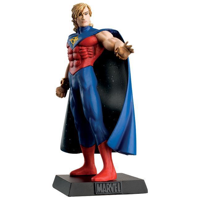 Supereroi Marvel Eaglemoss Super Skrull Statuina Piombo