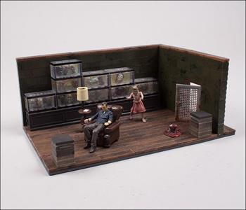 Mcfarlane Building Sets The Walking Dead Tv The Governor's Room