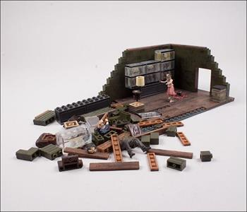 Mcfarlane Building Sets The Walking Dead Tv The Governor's Room - 2