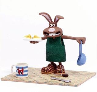 Mcfarlane Wallace & Gromit Figure Hutch