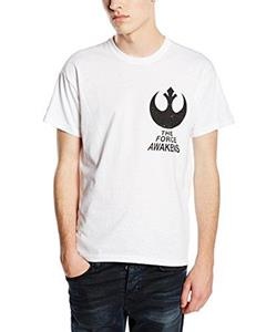 T-Shirt unisex Star Wars The Force Awakens. X-Wing Fighter Rear