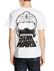 T-Shirt unisex Star Wars The Force Awakens. X-Wing Fighter Rear - 3