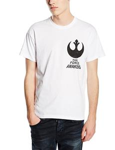 T-Shirt unisex Star Wars The Force Awakens. X-Wing Fighter Rear - 5