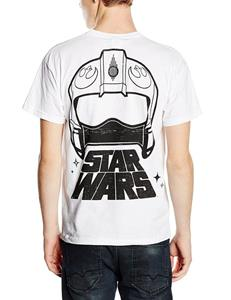 T-Shirt unisex Star Wars The Force Awakens. X-Wing Fighter Rear - 7