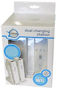 Dual Charging Station WII