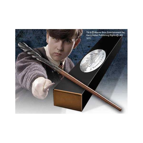 HARRY POTTER Noble Collection Bacchetta Magica di Neville Paciock