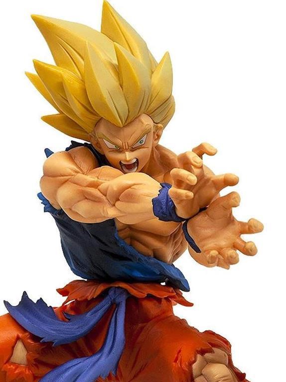 DRAGON BALL  Action Figure GOKU SUPER SAYAN 2 Kamehameha Giocattolo Pvc Nuovo