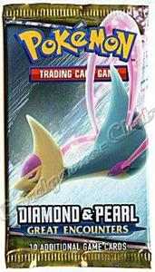 Pokemon Diamond & Pearl Great Encounters Busta 10 Carte (En) - 2
